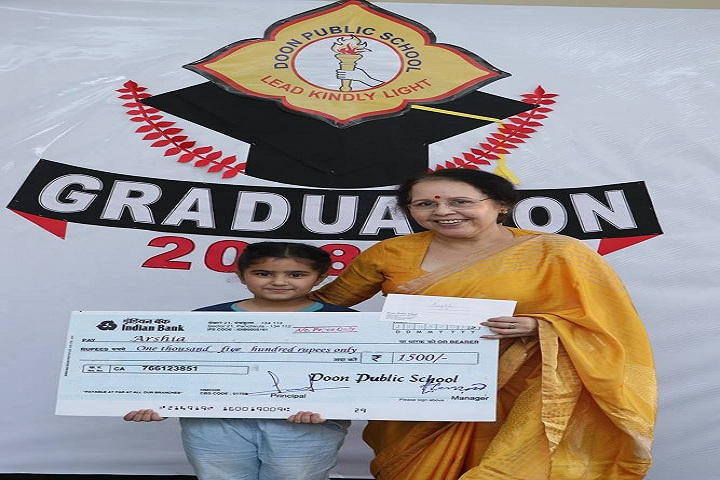 Doon public school-Graduation
