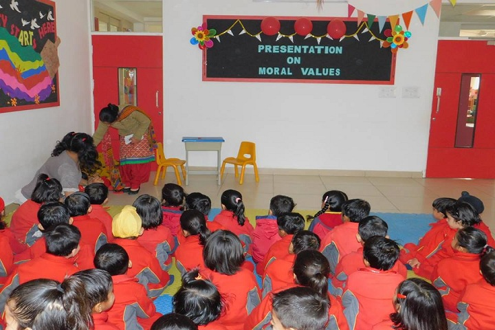 Doon public school-Presentation On Moral Values