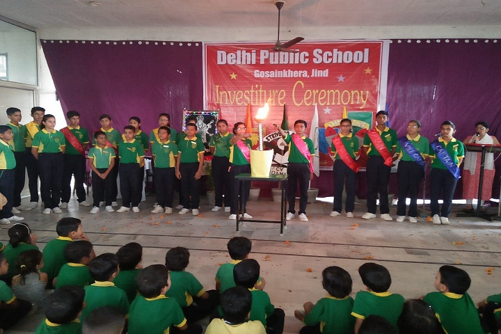 Delhi public school-Investiture Cermony