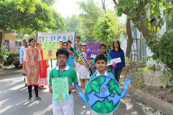 DPSG Sushant Lok-Earth Day Rally