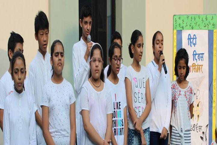 DPSG Sushant Lok-Group Singing