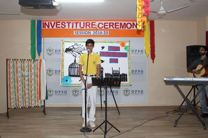 DPSG Sushant Lok-Music Competition
