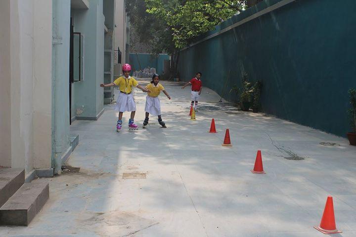 DPSG Sushant Lok-Skating