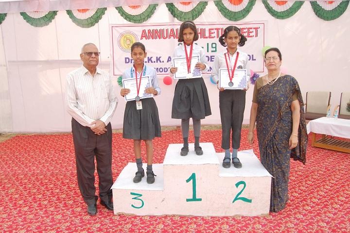 Dr M K K Arya Model School-Prize Winners