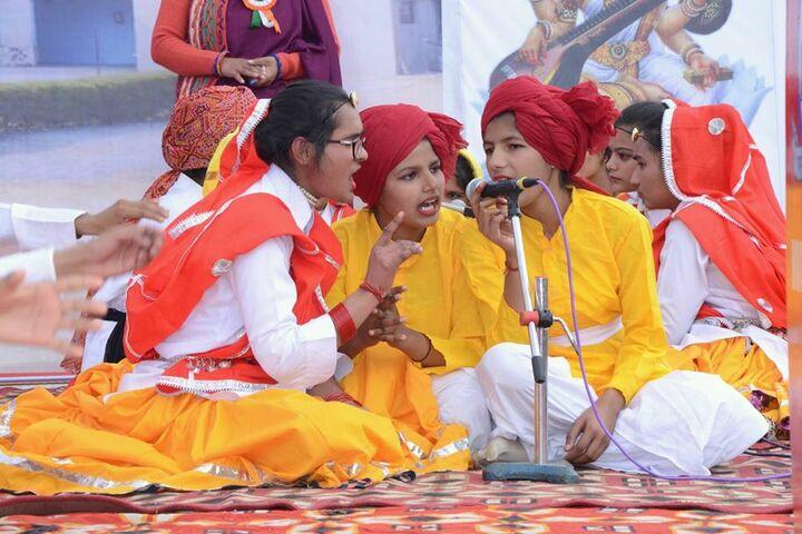 Dronacharya Senior Secondary School-Group Singing