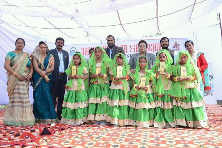 Dronacharya Senior Secondary School-Prize Ceremony