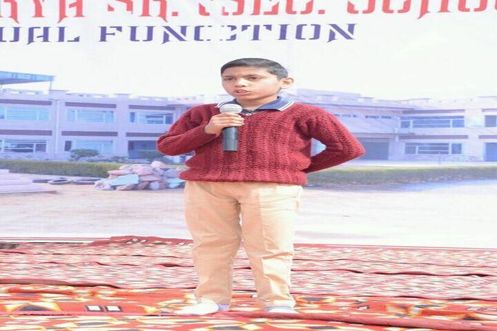 Dronacharya Senior Secondary School-Talent Hunt
