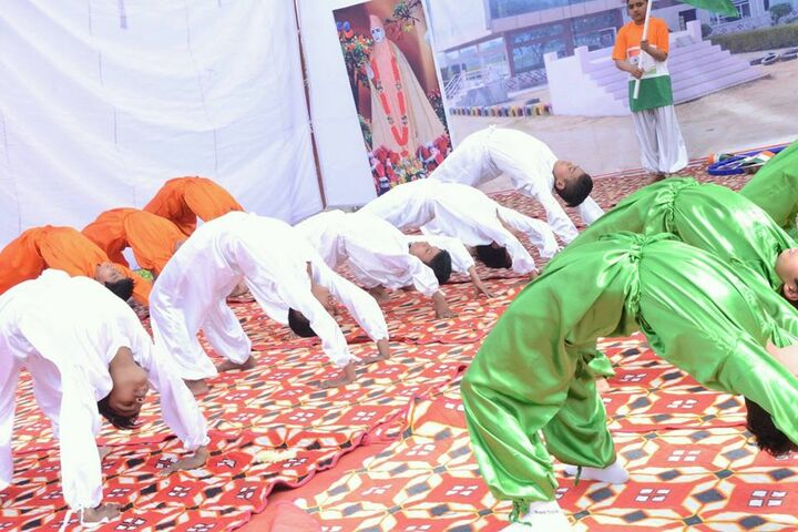 Dronacharya Senior Secondary School-Yoga