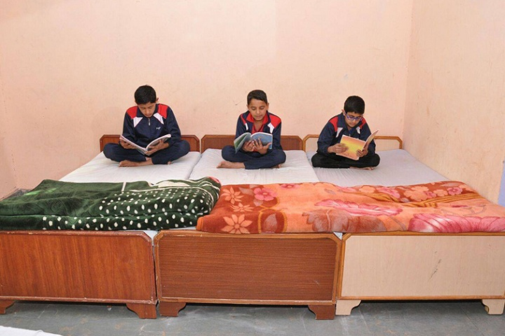 DSM Public School-Hostel rooms