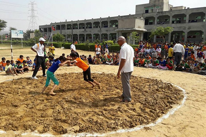 DSM Public School-Sports day