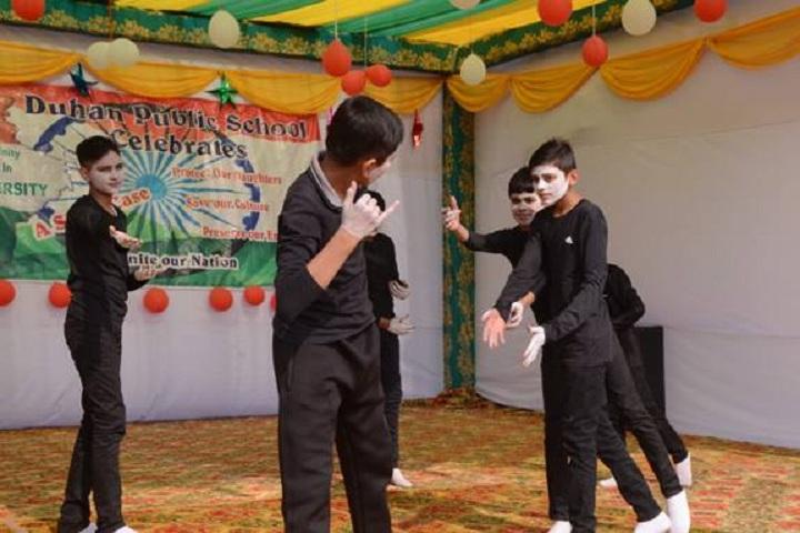 Duhan Public School-Mime Show