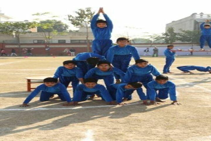 Dyal Singh Public School-Human Pyramid