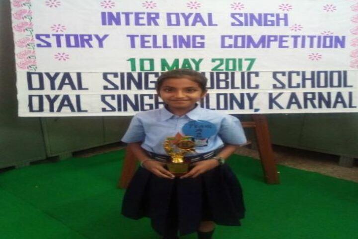 Dyal Singh Public School-Story Telling Competition