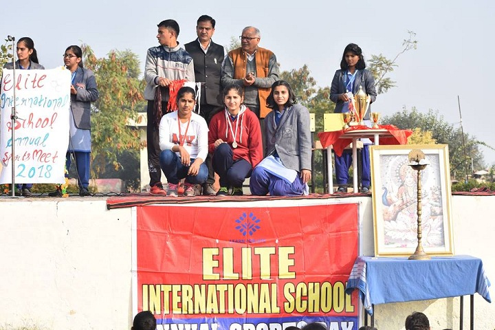 Elite International School-Annual sports meet