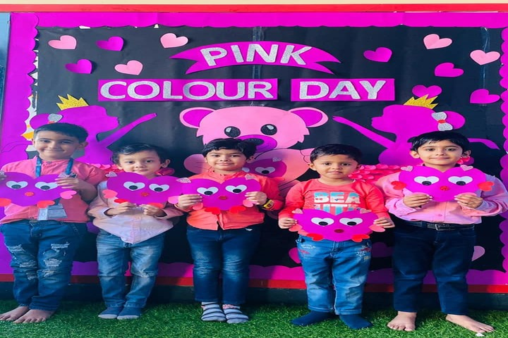 Euro International School-Pink Day