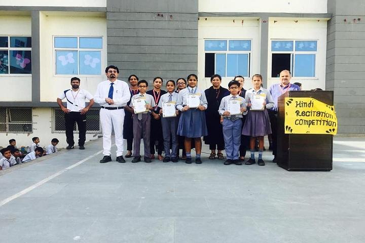 Euro International School-Hindi Recitation Competition