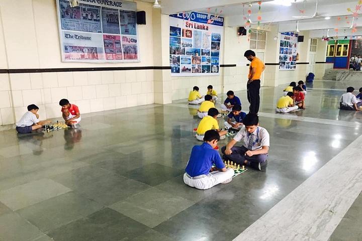 Euro International School-Indoor Games