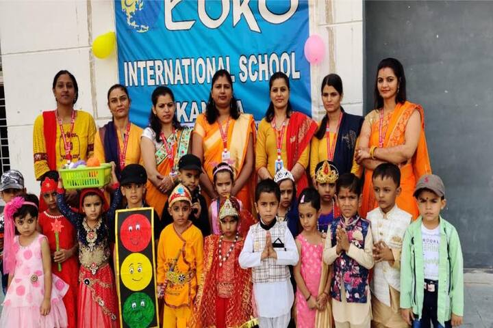 Euro International School-Fancy Dress Competiton