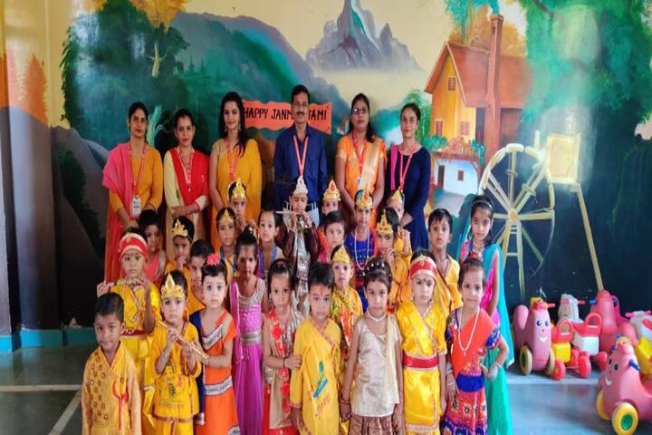 Euro International School-Janamastami Celebrations