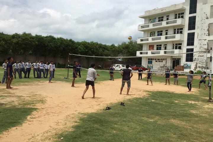 Euro International School-Volley Ball Court