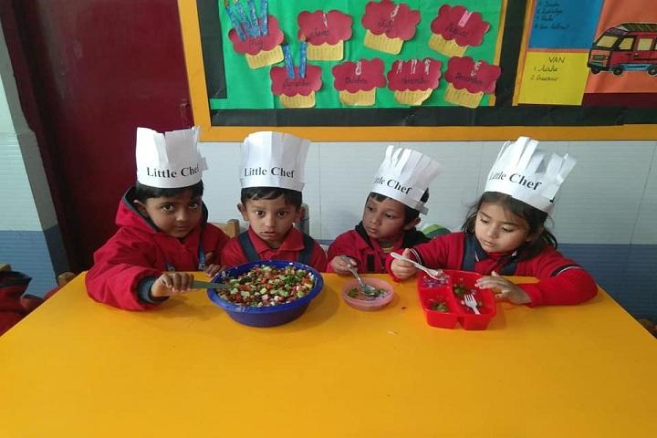 Euro Inertnational School-Little Chef