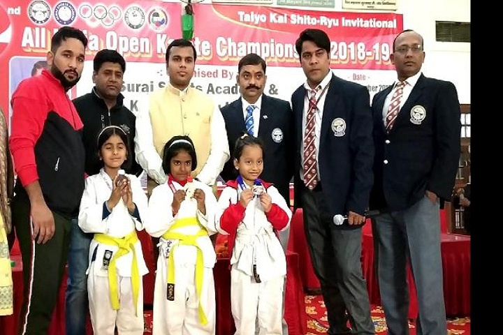G D Goenka Public School-Open Karate Campionship