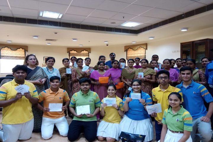 G D Goenka World School-May day assembly