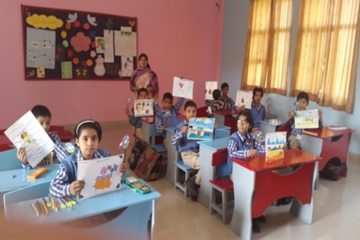 G N World School-Drawing Competition