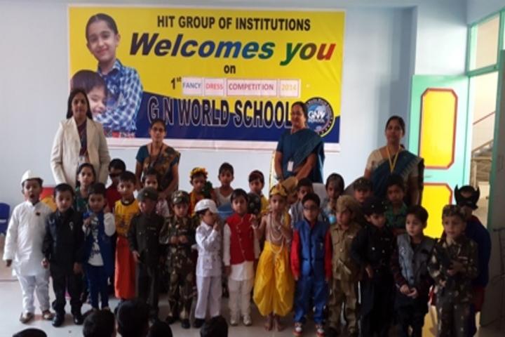 G N World School-Fancy Dress Competition