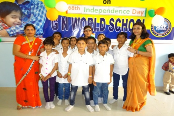 G N World School-Independence Day