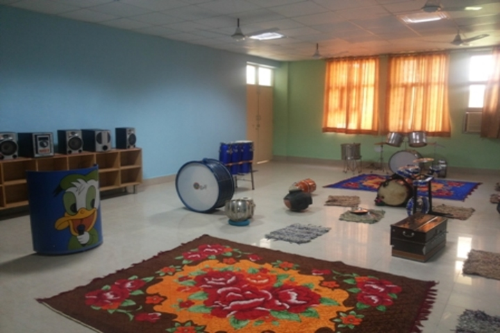 G N World School-Music Room
