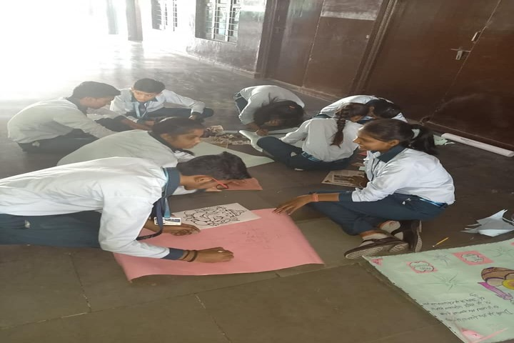 G R Senior Secondary School-Drawing Competition