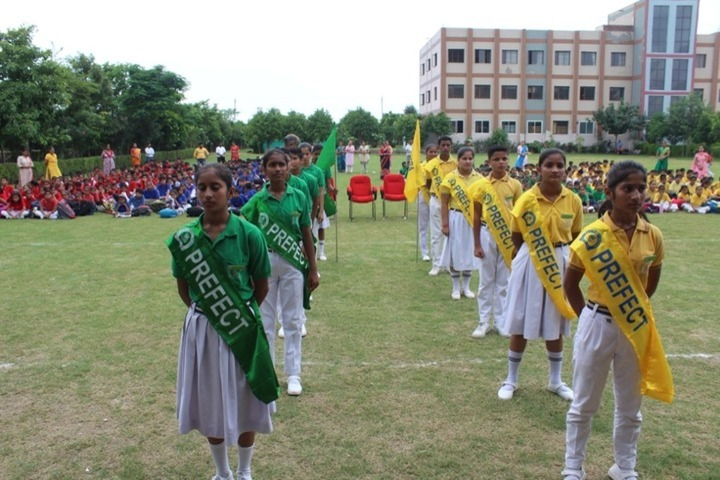 G A V Public School-Investiture Ceremony