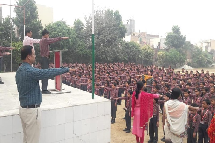 G B Public Senior Secondary School-Morning Assembly