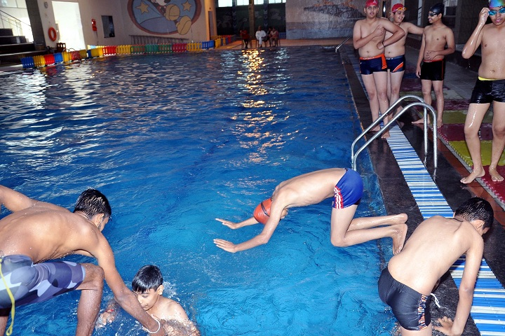 GD Goenka Global School-Swimming Pool