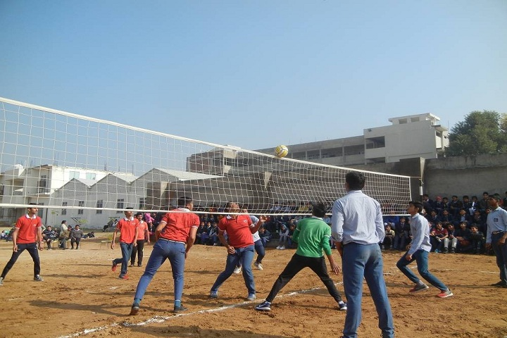 GR International School-Sports vollyball