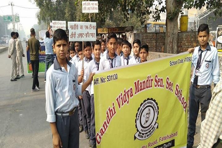Gandhi Vidya Mandir School-Rally