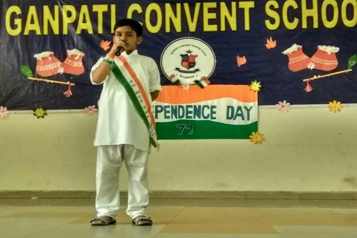 Ganpati Convent School-Events independance day