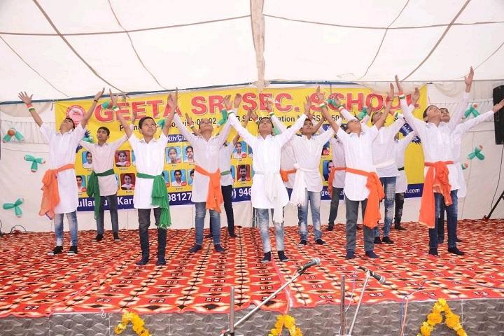 Geeta Senior Secondary School-Events programme