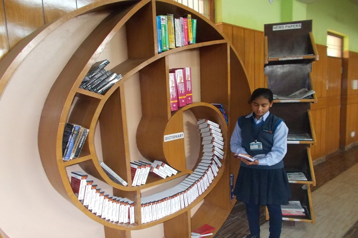 Geetanjali Senior Secondary School-Library