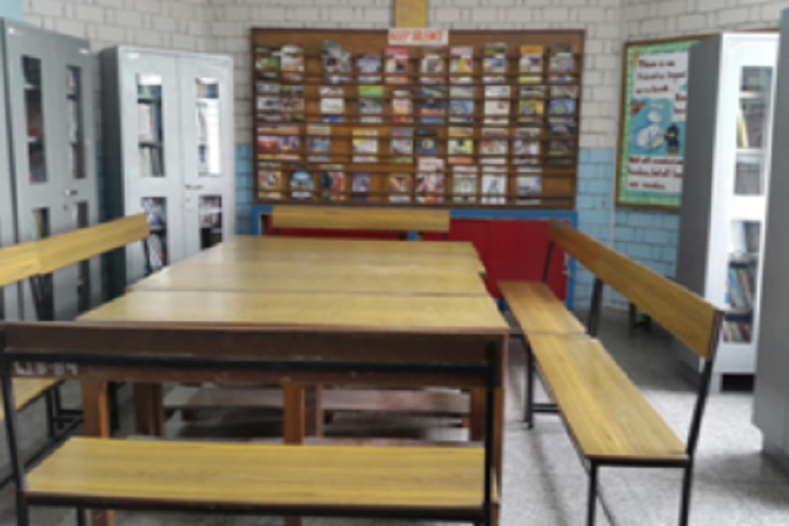 Genius Convent Senior Secondary School-Library with reading room