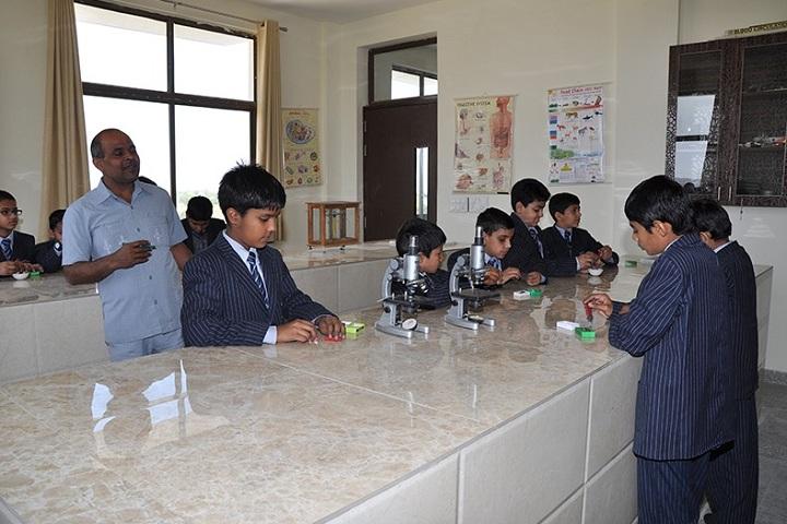 Global Public School-Laboratory biology