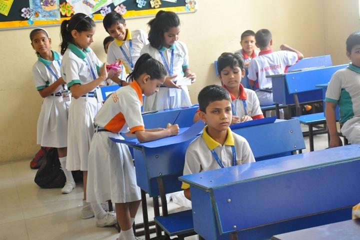 Golden Harrier School-Classroom with students