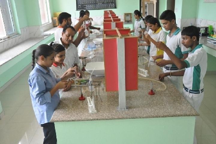 Golden Harrier School-Laboratory chemistry