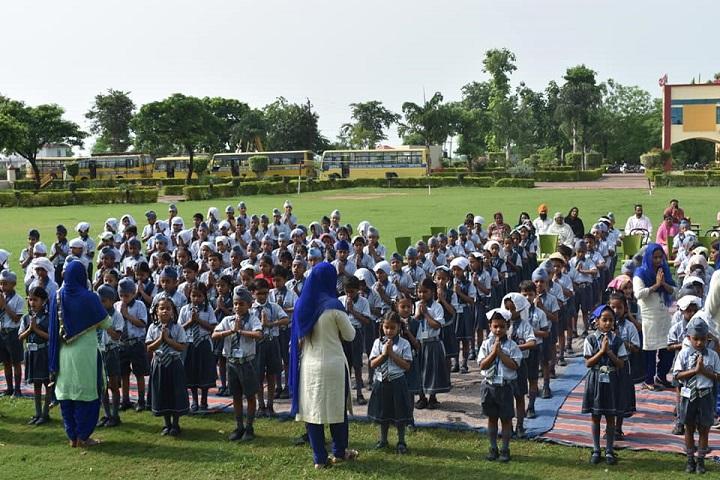 Green Fields Public School-Assembly