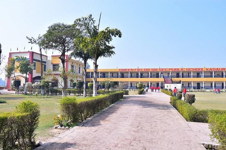 Green Fields Public School-Entrance