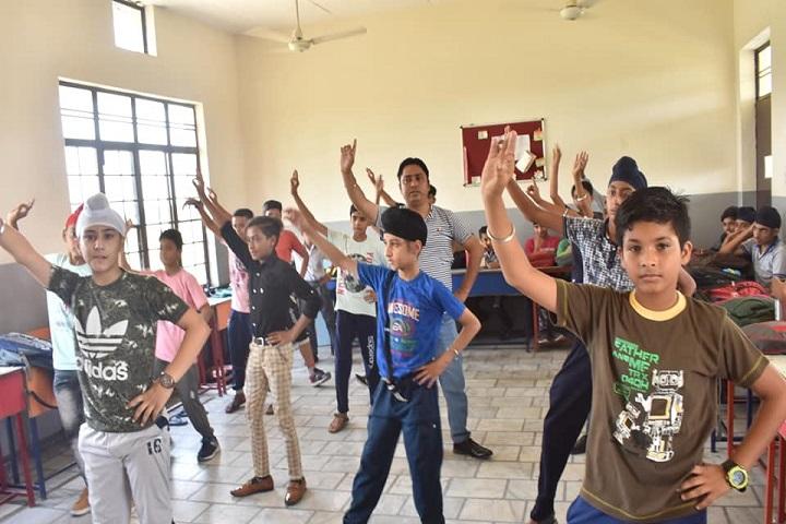 Green Fields Public School-Dance Room
