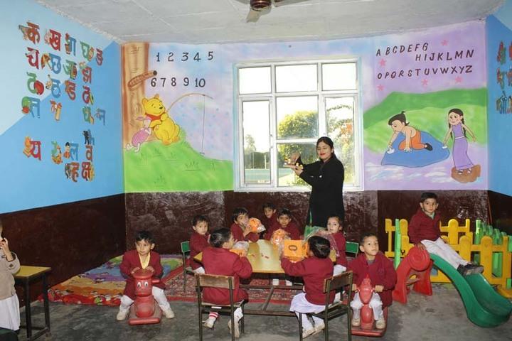 Green Valley International School-Playarea