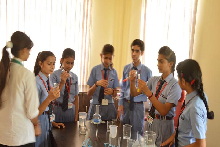 Greenfields Publc School-Lab