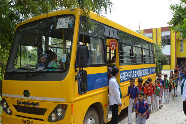 Greenfields Publc School-Transport
